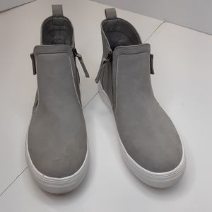 Not Rated light grey ankle sneakers size 7